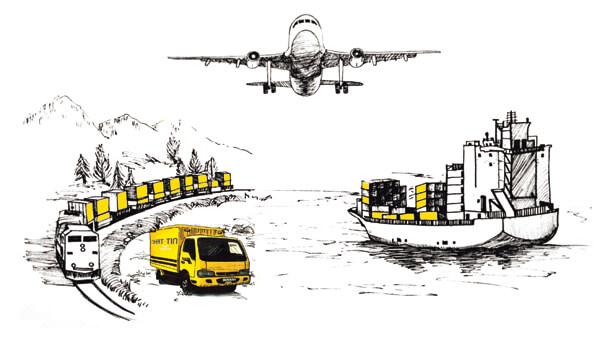 Các hình thức vận chuyển hàng đi Đài Loan tại Long Hưng Phát