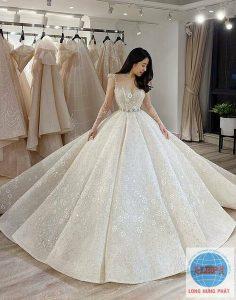 Gửi áo cưới đi Mỹ