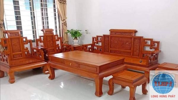 gửi bàn ghế gỗ đi mỹ