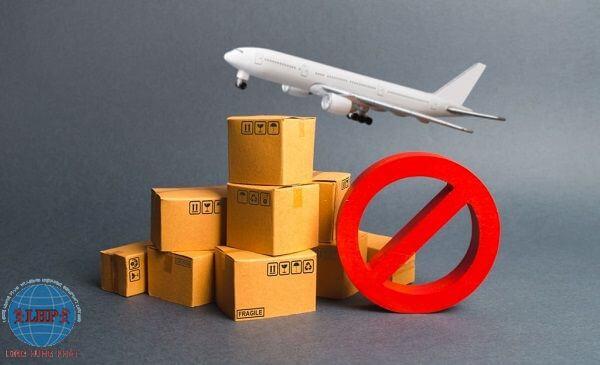 Những mặt hàng bị cấm khi gửi hàng đi Singapore