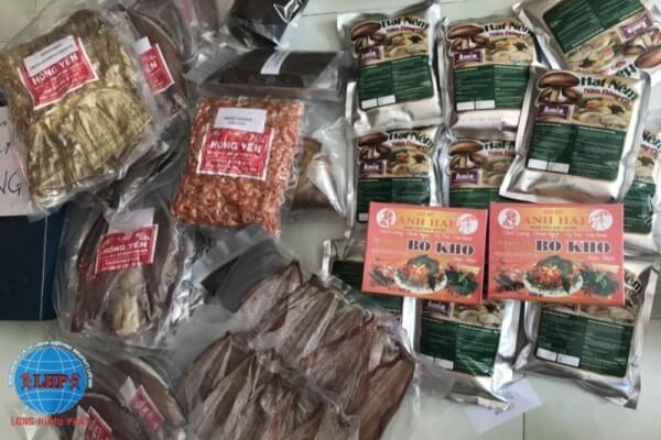 Thực phẩm cần có bao bì, nhãn rõ ràng khi gửi đi Mỹ