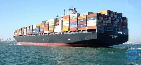 Gửi hàng đi Mỹ TNT bằng đường biển uy tín