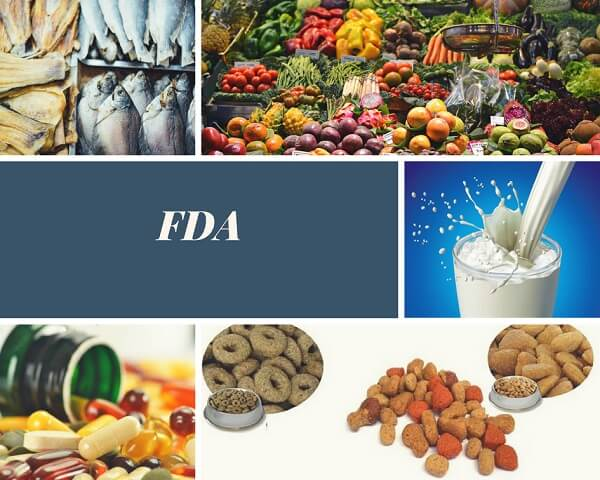 Các loại hàng hóa được coi là thực phẩm tại FDA