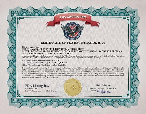Các thông tin cần cung cấp khi làm chứng nhận FDA