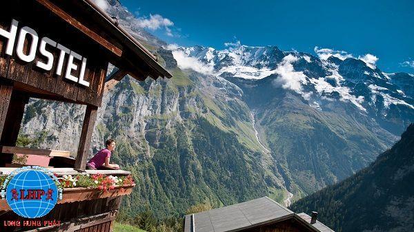 Ngôi làng Gimmelwald xinh đẹp của Thụy Sĩ